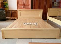 Giường gỗ sồi 10 kiểu sát đất (vạt phản)