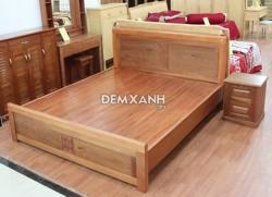 Giường gỗ xoan đào 04