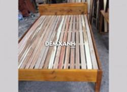 Giường gỗ Keo 02