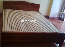 Giường ngủ gỗ Keo 04