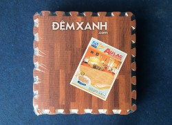 Thảm xốp Âu Lạc vân gỗ 60x60