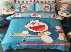 Chăn ga gối Olympia hoạt hình OHH2011 Doraemon
