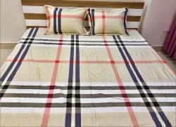 Bộ ga gối chun Olympia chần vải Cotton Hàn 14