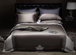 Bộ chăn ga gối lụa tơ tằm cao cấp King luxury 05