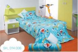 Chăn ga gối Sông Hồng Doraemon D14006