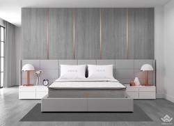 Đệm lò xo túi Liên Á Cocoon Grey Luxe