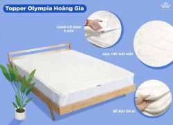 Đệm tăng tiện nghi Topper Olympia Hoàng Gia