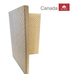 Đệm bông ép bề mặt cao su Canada