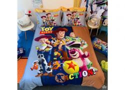 Chăn ga gối Olympia hoạt hình OHH2113 Toy Story Action