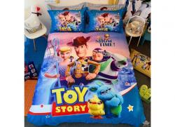 Chăn ga gối Olympia hoạt hình OHH2114 Toy Story Showtime