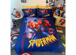 Chăn ga gối Olympia hoạt hình OHH2116 Spiderman