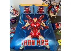Chăn ga gối Olympia hoạt hình OHH2119 Iron Man