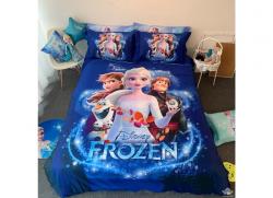 Chăn ga gối Olympia hoạt hình OHH2124 Frozen 1