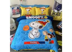 Chăn ga gối Olympia hoạt hình OHH2131 Snoopy Loading