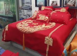 Bộ chăn ga gối Singapore Đế Vương 8 - 10 món DV10272