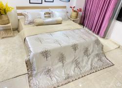 Chăn ga gối Singapore Pyeoda Luxury 5 món PL5M85