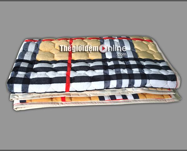 Thảm trải giường lông cừu TLC 01