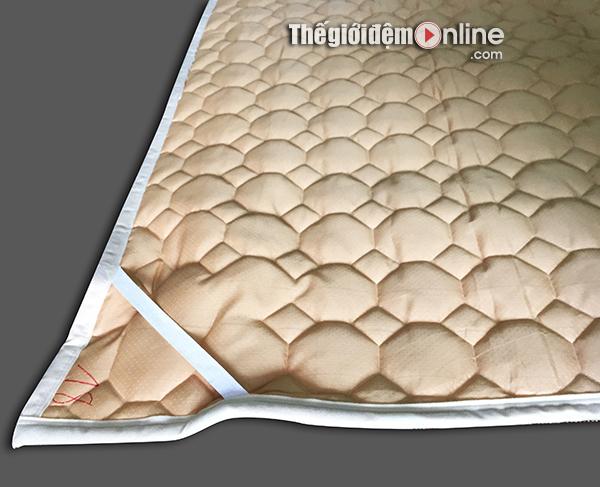 Thảm trải giường lông cừu TLC 03