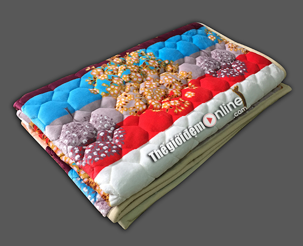 Thảm trải giường lông cừu TLC 04
