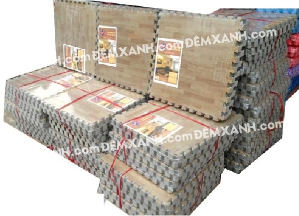 Thảm xốp vân gỗ Tường Lâm 60x60