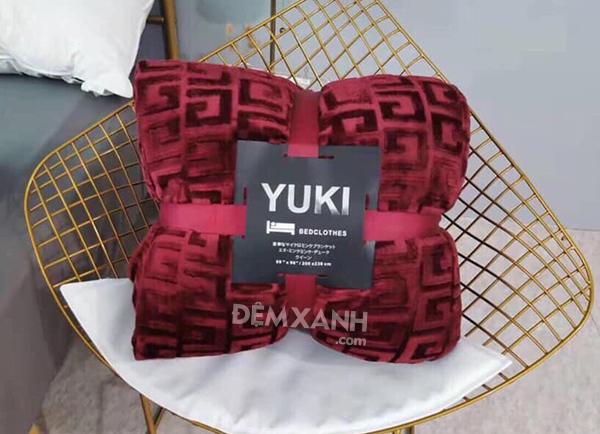 Chăn lông cừu Yuki mỏng LC01