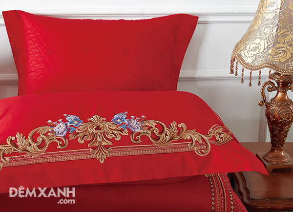 Bộ chăn ga gối Singapore King Luxury KL1918