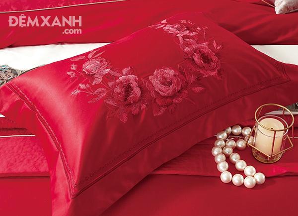 Bộ chăn ga gối Singapore King Luxury KL1919
