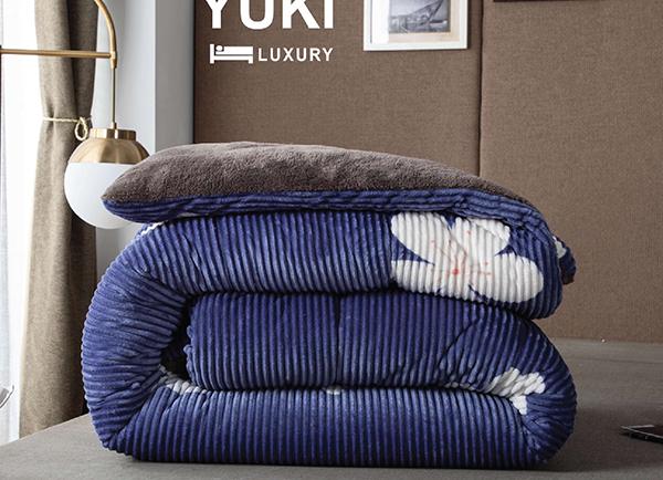 Chăn lông cừu Yuki cao cấp YK09