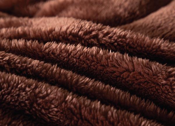 Chăn lông cáo Nicolas Diamond Vàng