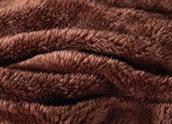 Chăn lông cáo Nicolas Diamond Vàng Nâu