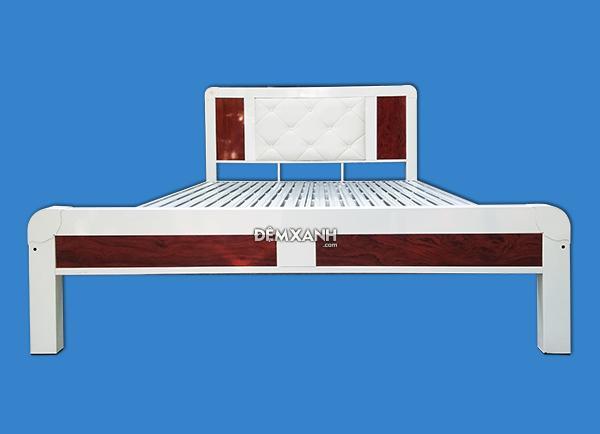 Giường sắt bọc da cao cấp Tân Trường Thành