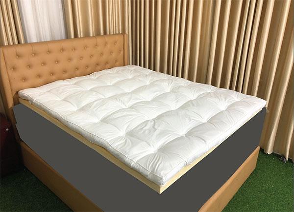 Đệm tăng tiện nghi Topper Spring Comfort Basic