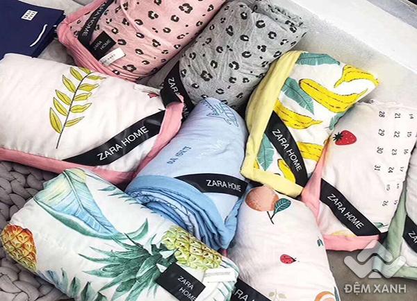 Chăn hè đũi Zara đa sắc 09