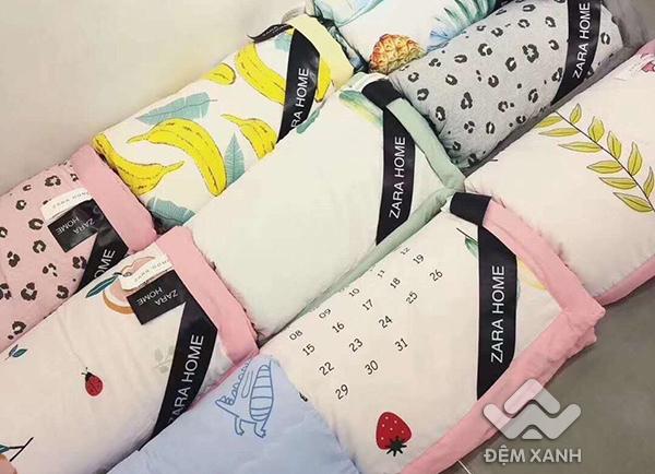 Chăn hè đũi Zara đa sắc 12