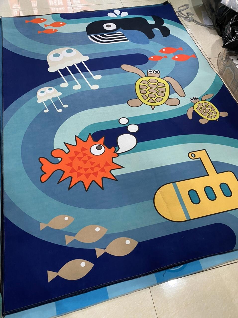Thảm hoạt hình đại dương