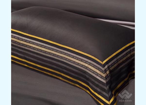 Bộ chăn ga gối lụa tơ tằm cao cấp King luxury 18