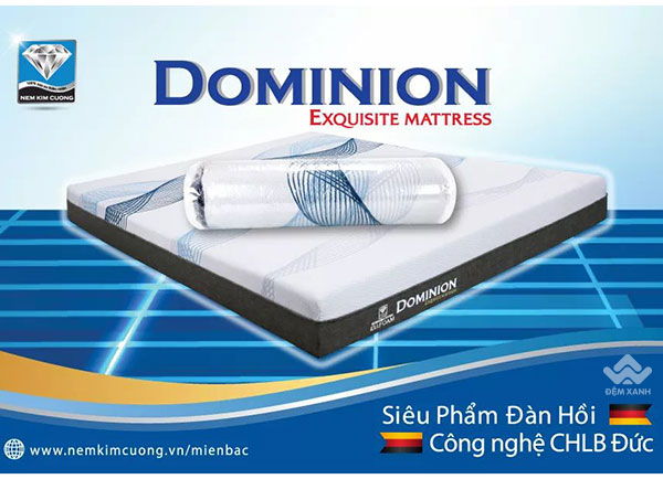 Đệm Kim Cương EU.Foam Dominion 1M
