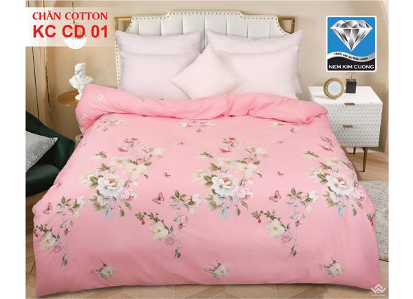 Chăn đông Kim Cương Cotton KCCD01