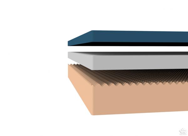 Đệm Zinus Memory Foam Gel Trà Xanh cao 25cm