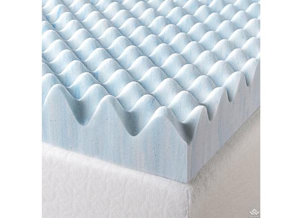 Topper đệm tăng tiện nghi Zinus gel mát, thoáng khí